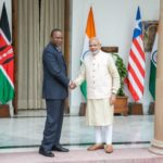 President of Kenya Uhuru Kenyatta, paid 3 Days Visit to India