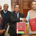 India & Mauritius signed an agreement for the support in cooperation sector