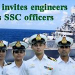 Indian Navy jobs for SSC Executive Technical Branches. Last Date to apply: 24 Feb 2017