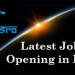 Jobs in ISRO for B.tech Candidates