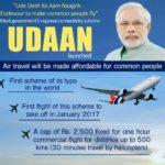 UDAN Scheme (Ude Desh Ka Aam Naagrik) : Booking Information