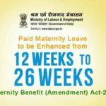 Maternity Benefit Bill / मातृत्व लाभ बिल