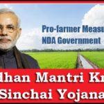 Pradhanmantri Krishi Sinchai Yojana (PMKSY): Full Details