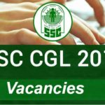SSC CGL Recruitment 2017 : Online Apply and Form