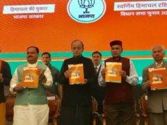 Himachal Manifesto BJP 2017