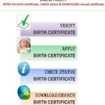 [आवेदन] UP Birth Certificate Online Apply | Form Download | Registration |