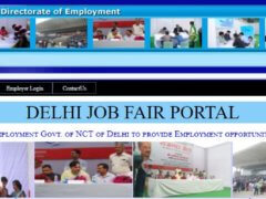Delhi Job Fair 2018 Online Registration
