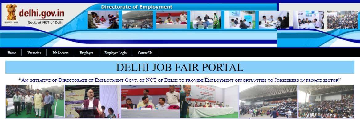 Delhi Job Fair 2018 Online Registration