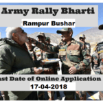 HP Army Bharti 2018 : Online Registration | Apply | Application Form