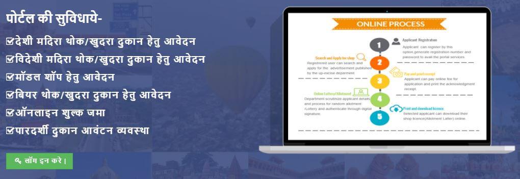 UP Abkari Vibhag Registration Online Apply Form
