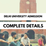 DU Admission Form 2018 [Registration] Apply Online | Application Form |