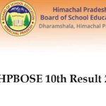 HP Board 10th Class Result 2018