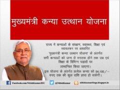 Mukhyamantri Kanya Utthhan Yojana Application Form