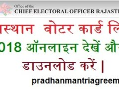 Rajasthan-Voter-List-2018-Download