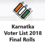 [Download] CEO Karnataka Voter List 2018 | Voter List Karnataka 2018 | Check Online