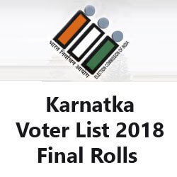voter List Karnataka 2018