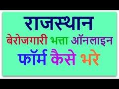 Berojgari Bhatta Rajasthan Online