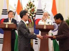 MOU Agreement India And Republic of Korea