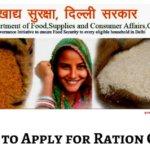 [Apply] Rashan Card Delhi Online | Status | List | E Rashan Card Download