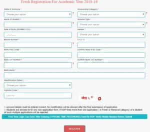 Minority Scholarship Application Form Download