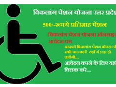 UP Viklang Pension Yojana Suchi
