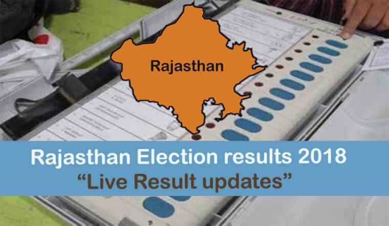 Rajasthan Vidhan Sabha Chunav Result 2018