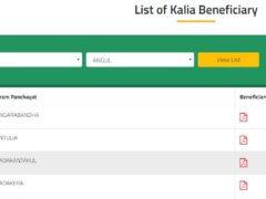 Ganjam Kalia Yojana Name List Download