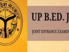up b.ed jee exam result 2019