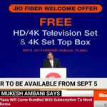 [Registration] Jio Fiber Free TV Online Booking | Jio Fiber Welcome Offer | Forever Plan