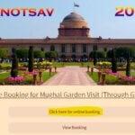 [Registration] Mughal Garden Online Booking 2021: Ticket Booking