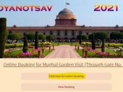 mughal garden online booking
